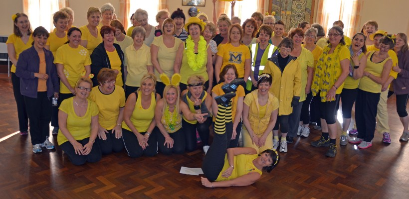 Wear it yellow day for Childrens Liver Charity