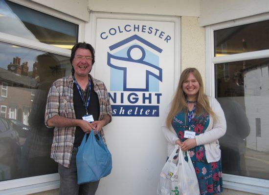 Julie Colchester Night Shelter
